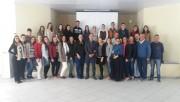 Estagiários são recepcionados por representantes do CIEE
