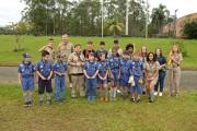 Escoteiros recebem conquistas na primeira tábua das especialidades