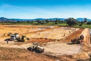 Moradores locais devem observar mudança no cenário de obras