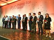 Eletroposto Celesc foi um dos vencedores do Prêmio Eco da Amcham