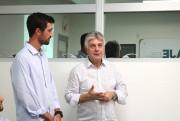 Novo presidente da AJE realiza primeira reunião de trabalho