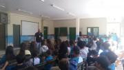 Educação Ambiental é discutida em escola lindeira da BR-101 Sul/SC