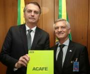 Bolsonaro recebe representantes das universidades comunitárias de SC