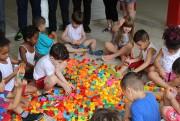 CEI Lapagesse recebe doação do projeto Brinquedo Educativo