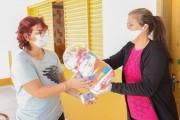 Cestas básicas são distribuídas para população em vulnerabilidade em Içara