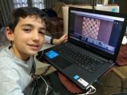 Equipe de xadrez de Içara mantém rotina de treinamento e torneios na web