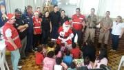 Natal feliz para mais de 200 crianças de Criciúma