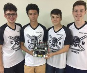 Estudantes do SESI disputam Olimpíada Nacional de Robótica