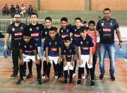 Equipe Sub-12 de futsal do Projeto Social de Siderópolis está na final do regional da LUD