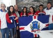 Equipe de atletismo de NV participa do Campeonato Brasileiro Caixa