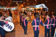 Fanfarra da Escola Hercílio Amante se apresenta no Terminal Central