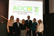 Palestra e nova logo dão início as comemorações dos 75 anos da Acic