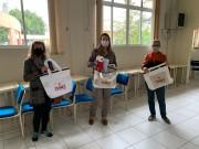 Kits de trabalho para as mães da FAI são entregues na cidade de Içara
