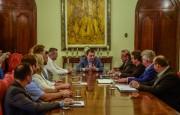 FECAM e Governo do Estado de SC tratam de pautas municipalistas