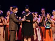 Moisés prestigia a Noite dos Campeões do 38º Festival de Dança de Joinville