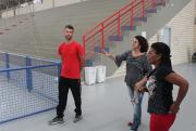 Membros da FMCE visitam ginásios da região