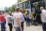Ônibus rural escolar é entregue à Educação de Forquilhinha