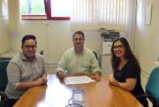 Unesc consolida parceria com associações empresariais de Forquilhinha e Nova Veneza