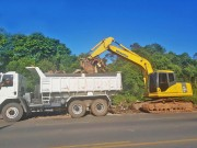 Fundai realiza limpeza nas margens das vias públicas