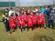 Equipe da FMCE de Içara conquista título em Orleans