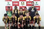 Futsal de Içara termina competição em terceiro lugar
