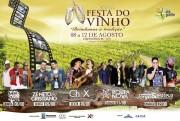 Venda de passaportes para a XVIII Festa do Vinho inicia em 14 de maio