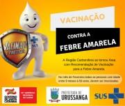 Segue a campanha de vacinação contra a Febre Amarela