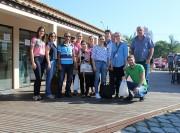 """Feira e projeto """"Reciclou, Levou"""" são apresentados a comitiva de Turvo"""