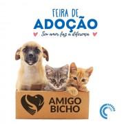 Feirinha de adoção da ONG Amigo Bicho será realizada no domingo