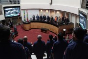 Alesc presta homenagem aos bombeiros de Santa Catarina