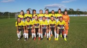 Esucri é uma das parceiras do futebol feminino de Criciúma