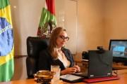 Governadora acompanha posse do procurador-geral de Justiça do MPSC