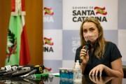 Governadora de Santa Catarina anuncia novos nomes do secretariado