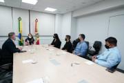 Governadora recebe demandas dos escrivães e agentes da Polícia Civil