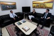 Governadora reforça diálogo com visitas institucionais aos presidentes da Alesc e TCE