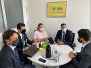 Vereadores içarenses viajam à Brasília em busca de recursos para o Município