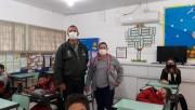 Vigilância Epidemiológica orienta alunos sobre dengue