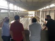 Prefeito Neguinho visita instalações da BPM Pré Moldados em Forquilhinha