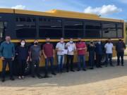 Forquilhinha recebe novo ônibus com capacidade para 58 passageiros