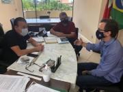 Neguinho cobra de superintendente da Casan demandas em Forquilhinha
