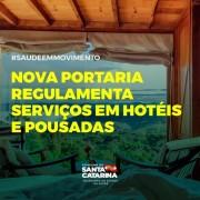 Governo regulamenta serviços de alimentação, academias e uso de piscina em hotéis