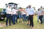 Secretaria da Agricultura entrega equipamentos para produtores de arroz
