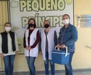 Profissionais da educação são vacinados contra a Influenza em Siderópolis