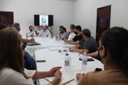 Prefeito de Urussanga realiza a primeira reunião com o colegiado completo