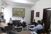Prefeito de Urussanga recebe a visita dos novos delegados