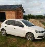 Veículo é abandonado após perseguição com a PM