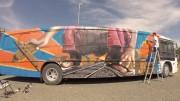 Grafiteiro Herok irá participar de atividade com alunos de Içara