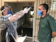 EPI's garantem a segurança no atendimento hospitalar no São José em Criciúma