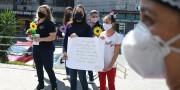 Estudantes enviam mensagens de apoio para profissionais do HSD