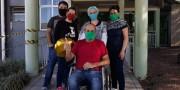 Uma história de superação na vida do paciente do HSD com covid-19